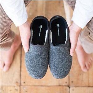 Mahabis Classic Wool Larvik Light Grey Slippers